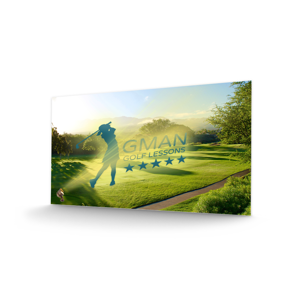 Gman Golf Lessons Postcard