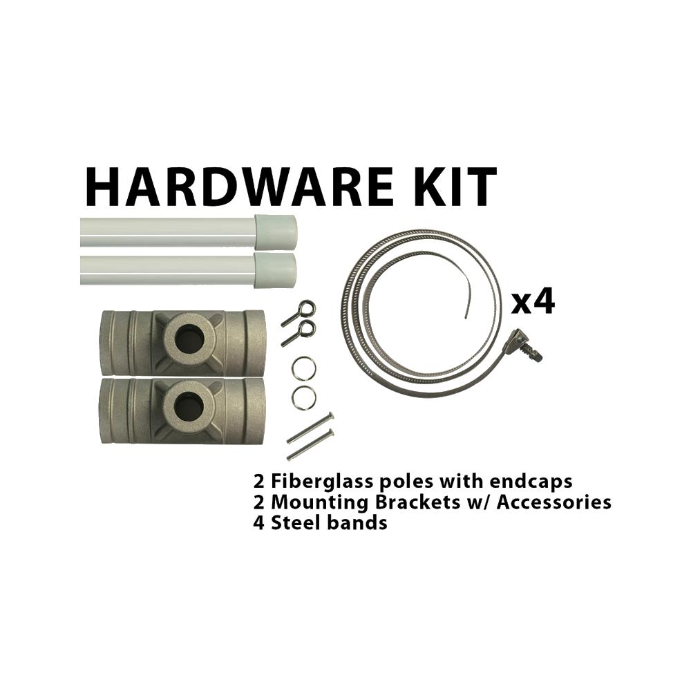 Pole Banner Hardware Kit