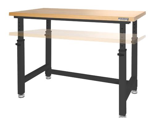 48 Inch Seville Classics Workbench Desk Table